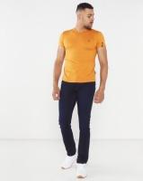 Soviet Bolt Evo V-Neck Muscle Fit T-Shirt Spice Gold Photo