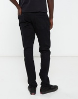 Jonathan D Classic 5 Pocket Straight Leg Denim Black Photo