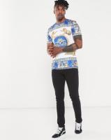 Jonathan D Royal Mytic Bling Print T-shirt Multi Photo