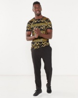 Jonathan D Troy Bling Allover Print T-shirt Black Photo