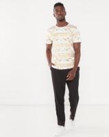 Jonathan D Troy Bling Allover Print T-shirt White Photo
