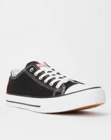 KG Low Cut Canvas Sneakers Black Photo