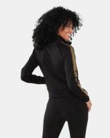 Sissy Boy Sporty Jacket Black/Gold Photo