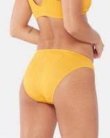 Legit Seersucker Bikini Bottoms Mustard Photo