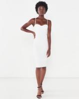 Sissy Boy Take A Bow Lace Midi Off White Photo