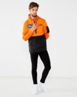 Alpha Industries Anorak Orange /Black Photo