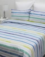 Sheraton Beach Stripe Duvet Cover Set Blue Photo