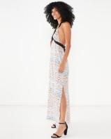 Allegoria Digital Print Sleeveless Dress Multi Photo