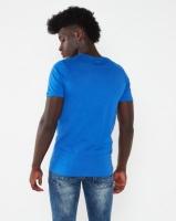 K-Star 7 Fashion HD Printed T-shirt Royal Blue Photo