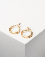 Lily Rose Lily & Rose Chunky Hoop Earrings Gold Photo