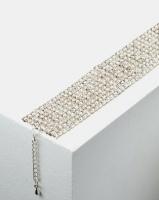 Adoria Extravagant Diamante Bracelet Silver Photo
