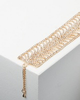 Adoria Extravagant Diamante Bracelet Gold Photo