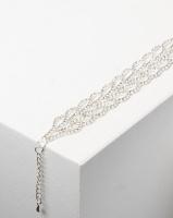 Adoria Luxe Diamante Bracelet Silver Photo