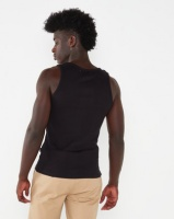 Beaver Canoe Swagga Basic Rib Tank Top Black Photo