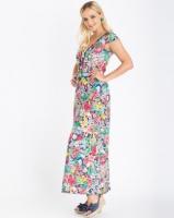 Contempo Floral Maxi Dress Multi Photo