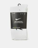 Nike Performance U NK Everyday Lightweight Crew 3 Pair White Photo