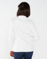 Queenspark Night Out Woven Jacket White Photo