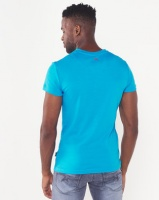 Soviet New Hull T-shirt With Drawcord Turquoise Photo