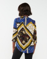 cathnic By Queenspark cath.nic By Queenspark Chain Print Woven Blouse Multi Photo