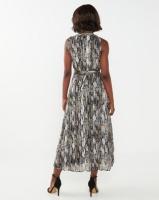 Miss Cassidy By Queenspark Animal Lurex Thread Woven Dress Multi Photo