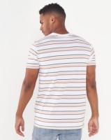 Element Venice Stripe Short Sleeve Tee White Photo