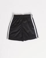 adidas Originals Boys 3 Stripe Shorts Black Photo