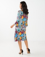 cath.nic By Queenspark Printed Marilyn Popover Dress Multi Photo
