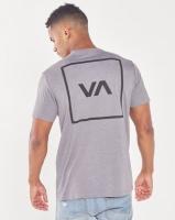RVCA Box Short Sleeve Tee Grey Photo