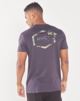 RVCA Continent Hex Fill Short Sleeve Tee Multi Photo