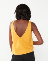Billabong Chevy V Tank Yellow Photo