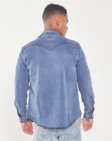 Levi's ® Bruised Classic Western Shirt Indigo Photo