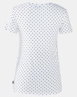 Cherry Melon Spot Feeding Top Pyjama Short Set Plain White/Black Photo