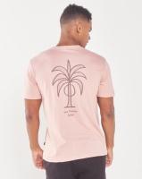 Rip Curl Dark Paradise Palm Tee Pink Photo