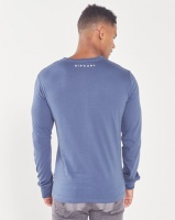 Rip Curl Outliner Long Sleeve Tee Blue Photo