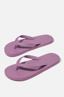 Cotton On - Bondi Flip Flop - Berry Photo
