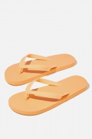 Cotton On - Bondi Flip Flop - Apricot Photo