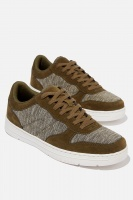 Cotton On - Hayward Clean Sneaker - Khaki/khaki marle/white Photo