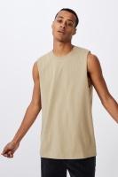 Cotton On Men - Essential Muscle - Gravel stone Photo