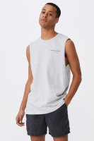 Cotton On Men - Tbar Muscle - Light grey marle/studio collection Photo