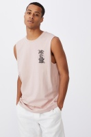 Cotton On Men - Tbar Muscle - Dirty pink/dont touch Photo