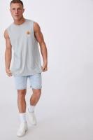 Cotton On Men - Tbar Muscle - Blue haze/no bad vibes Photo