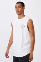 Cotton On Men - Tbar Muscle - White/valley studios Photo