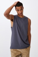 Cotton On Men - Essential Muscle - Late night blue Photo