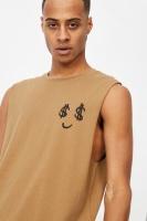 Cotton On Men - Tbar Muscle - Aged camel/dollar eyes Photo