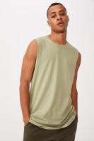 Cotton On Men - Essential Muscle - Sage Photo