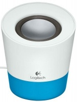 Logitech Z50 Portable Speaker - White and Blue - Photo