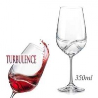 Doctor Who Turbulence Decanting Crystal Wine Glasses -Desert Photo