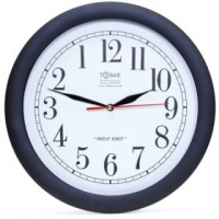 Superman Backwards Clock Photo