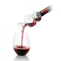 Final Touch On the Bottle Conundrum Wine Aerator Photo