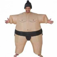 Sumo Inflatable Costume Photo